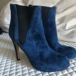 Royal Blue Booties